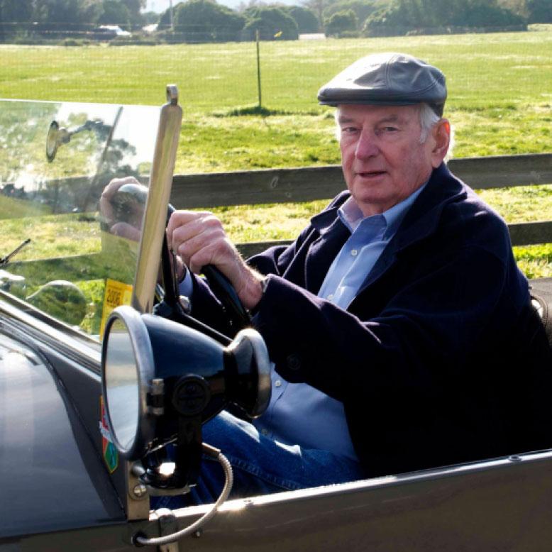 Martin Swig, originator of the California Mille