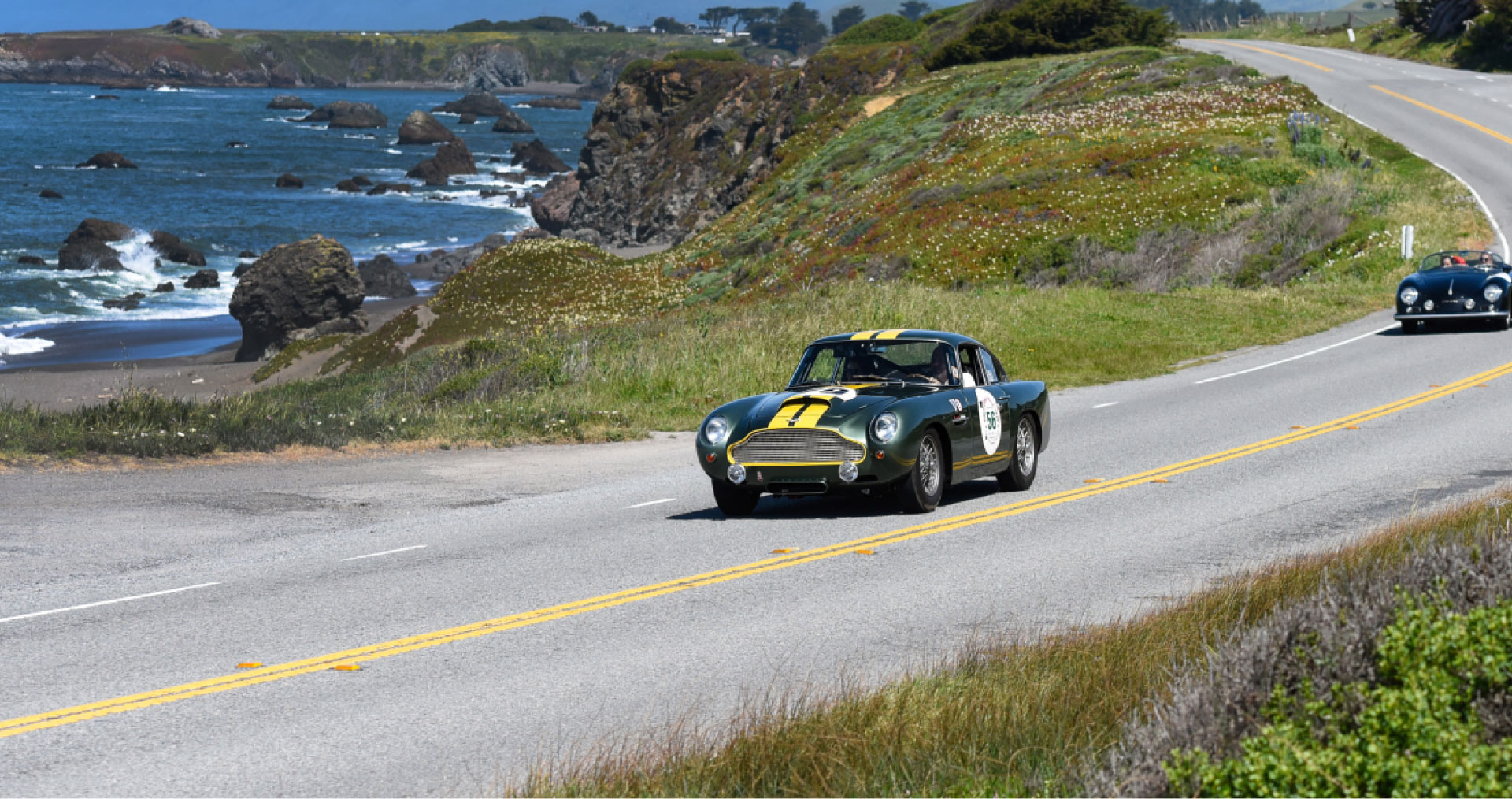 Important cars, little roads and wonderful friends